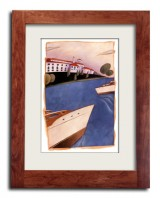 Boats at Lafayette Club by Brian Jensen